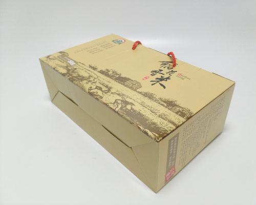 稻花香米5kg大米包装盒可以装5个1kg的米砖,组合