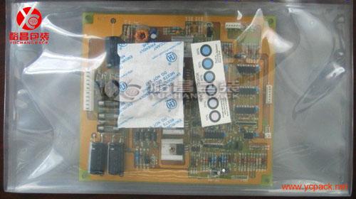 用途:可用于芯片,ic,pcb,线路板,电路板等电子产品真空封装.